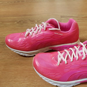 Pink Athletic Puma Shoes